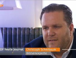 Christoph Scherbaum im heute journal