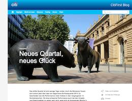 Die Börsenblogger bloggen im Citi-Blog