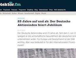 Christoph Scherbaum im Interview bei detektor.fm