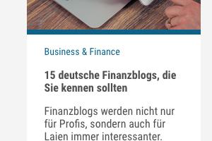 Cision Finanzblogs
