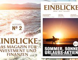 marktEINBLICKE – das Magazin: Die Sommer-Ausgabe